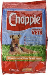 Chappie Vets Developed Dry Dog Food with Chicken and Wholegrain Cereal, 3 kg