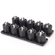 10x Speakon 4 Pin Female jack Compatible Audio Cable Panel Socket Connector JKHW