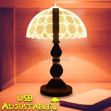 US 3D Umbrella Illusion LED Adjustable Warm Light Night Lamp USB Christmas Gift