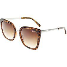 Quay Women's Gradient Capricorn QW-000167-TORT/BRN Brown Butterfly Sunglasses