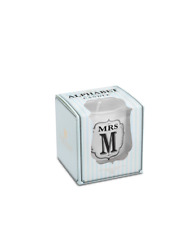 Miss and Mrs Fragranced Soy Wax Candles Alphabetic Votive Mrs M