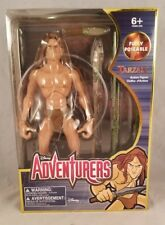 """DISNEY STORE EXCLUSIVE ADVENTURES 12"""" TARZAN ACTION FIGURE DOLL FULLY POSEABLE"""