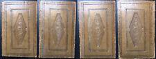 W. Robertson - Histoire de Charles-Quint - Relié pleine peau, 4 volumes 1822