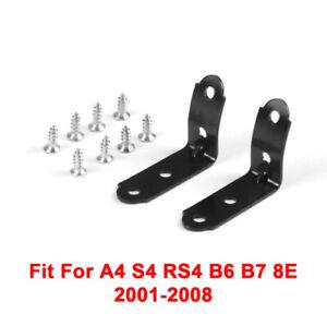 For AUDI A4 S4 RS4 B6 B7 8E1880302E Black GLOVE BOX BRACKET REPAIR KIT BR