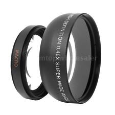 52MM 0.45X Fisheye Wide Angle Macro Lens for Canon Nikon SONY Pentax Camera