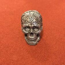 12 mini Skulls Gothic Celtic Tribal Figurine Resin Sculpture Halloween 3 Cm