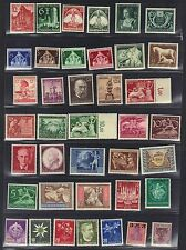 GERMANY 1930's 1950's COLLECTION OF 360 MINT ONLY 8 BERLIN ISSUES USED INCLUDES