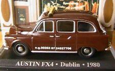 AUSTIN FX4 TAXI DUBLIN 1980 IRELAND 1/43 MARRON BROWN IXO ALTAYA BROWN MARRON