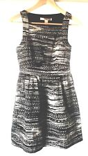 Forever 21 Womens Blurred Lines Dress Size Small White Contemporary Retro New