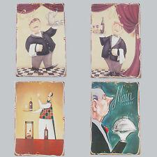 Dekoschild Metallschild Wandschild  Metall Deko Vintage Küchen Antik Stil30x20cm