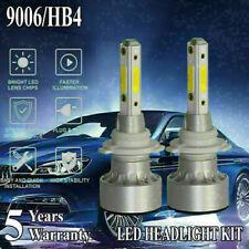 4 Side LED Headlight Kit 9006 HB4  6000K 2000W 300000LM Fog Bulbs Low Beams HID