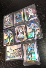 Cam Newton 8 Card Silver Holo Prizm Lot!!! Patriots! Invest!!