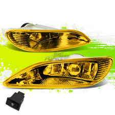YELLOW TINTED FOG LIGHT/LAMPS PAIR+SWITCH FOR TOYOTA 02-04 CAMRY/05-08 COROLLA