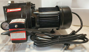 1 HP Water Well Pump w/ Pressure Control on off Switch Cast Iron 1350 GPH 12amp.