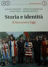 STORIA E IDENTITA' 3+ Atlante  N. Edizione  EINAUDI SCUOLA  9788828617235
