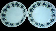 RIDGWAY Contessa Blue Turquoise / Green  7 1/4  inch Bowls x 2