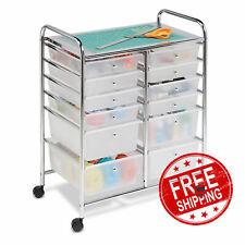 Honey-Can-Do CRT-01683 12 Plastic Drawers Cart