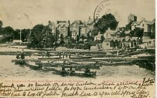 UK Bowness - Old England Hotel and Boat Station old postcard