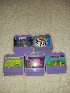 V Tech Game Cartridges Lot