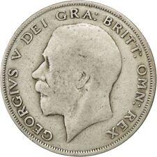 [#29154] GREAT BRITAIN, 1/2 Crown, 1921, KM #818.1a, VF(20-25), Silver, 32.3