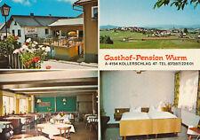 AK aus Kollerschlag, Gasthof-Pension Wurm, Mehrbildkarte, Oberösterreich (E1)