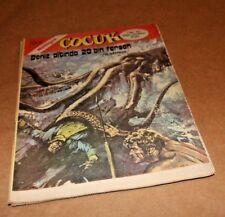 1973-1974 Jules Verne 20000 Leagues under the Sea Turkish Milliyet Cocuk Comics