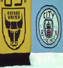 Oxford United v Manchester City Football Scarf / Memorabilia / Scarves 25/09/18