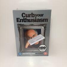 Curb Your Enthusiasm Complete Series Season 1-8 DVD Comedy Boxset Region 2 New