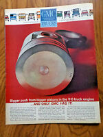 1963 GMC Trucks Ad Bigger Push From Bigger Pistons in the v6 Truck Engine