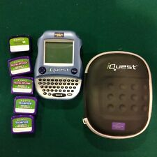 Leap Frog iQuest Quantum Leap 5th - 8th gr electronic learning toy Plus 5 Cart