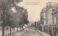 Carte postale France Fontenay le Comte (Vendee) â Turgot et de la re