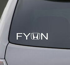 FYHN Mazda sticker vinyl funny decals Cool mazdaspeed 3 turbo chick fast car