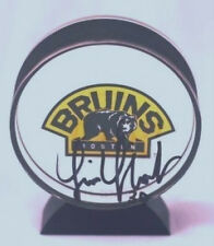 Tim Thomas Boston Bruins Autographed Acrylic Puck