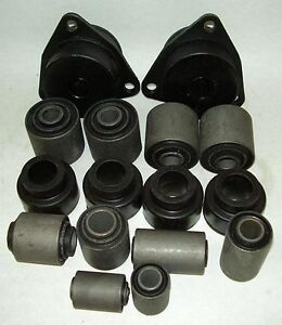 LAND ROVER DISCOVERY 1   1991 >1998 STEEL & RUBBER SUSPENSION BUSH KIT - SBK02