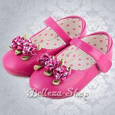 Rosette  Shoes Wedding Pageant Party Size US 6.5-9 Euro 22.5-25 GS006