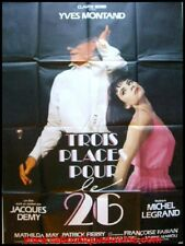 TROIS PLACES POUR LE 26 Affiche Cinéma 60x80 Movie Poster YVES MONTAND