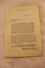 SIGNED Franklin Roosevelt FDR 1928 Letter GREAT Content ALS Rare President