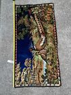 Vintage R.T. Co NY pheasant tapestry rug made in Italy Wildlife