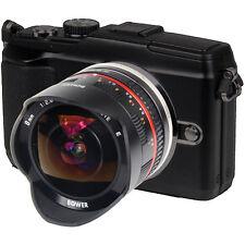 Ultra Wide Mirrorless Fisheye Lens 8mm f/2.8 for Fuji X-E1, X-M1 & X-Pro1