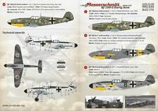 Print Scale 1/72 Messerschmitt Bf 109G-2/Bf 109G-4 Early Aces # 72166