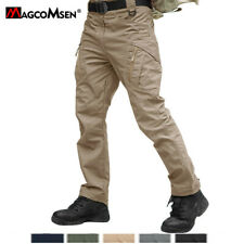Zipper Pockets IX9 Mens Cargo Combat Work Trousers Military Outdoor Tactic Pants