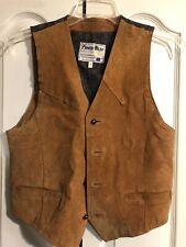 Vintage Brown PIONEER WEAR Leather Vest