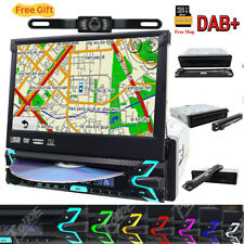 Car 1-Din Dvd Cd Bluetooth Stereo 7