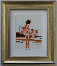 Sweet Bird Of Youth Study by Jack Vettriano Framed & Mounted Art Print Gold