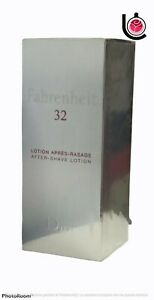 """Christian Dior """" Fahrenheit 32 """" after Shave Lotion ML 100 Vintage And Rare"""