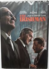 New listing The Irishman - Dvd 2019 - Al Pacino, Joe Pesci, Robert DeNiro