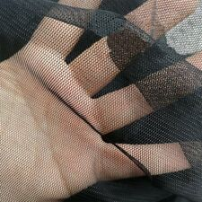 "Shatex Black Mosquito Net DIY Fabric Netting for Bed Canopy Outdoor, 60""x5 Yard"