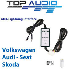 VW 3.5mm AUX Input Dock Adaptor Audio MP3 Interface Adapter Phone Charging