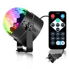 Led Party lights Strobe Dance Light Disco Ball Lights 7 Color Sound Activated UK