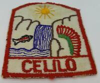 "BSA Boy Scouts America 1956 Celilo District Portland Area Council Patch 3.5"""